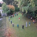 Bewegung im Garten des Kneipp - Bund - Hotels