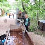 Wasser erleben - Überflutung eines Dorfes