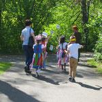 Kindergruppe aus Kindergarten St. Marien