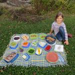 Picknick ist fertig!