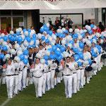 Fanfarenzug Strausberg, gasgefüllte Ballons