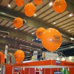 Riesenballons bedruckt, 1,10m Durchmesser, gasgefüllt