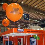 Riesenballon bedruckt, 1,10m Durchmesser, gasgefüllt