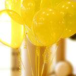 Ballons gasgefüllt