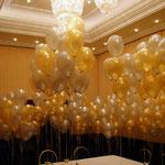 Ballonsträuße, gasgefüllt