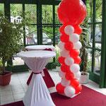 Hochzeitsdeko, luftgefüllt ca. 2m hoch