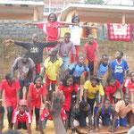 Pyramide mit allen 23 Teilnehmern