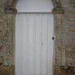 Fabrication artisanale menuiserie - Porte de château - AVANT