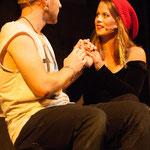 Daniel Raaflaub als Roger und ich als Mimi Marquez