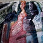 """""""VERWUNSCHENER GARTEN"""", ACRYL, 0,80x 0,60m, 2008"""