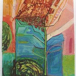 """""""DAS LETZTE BLATT"""", MISCHTECHNIK, 0,20 x 0,30m, 2002"""