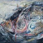 """AUGE AUF HOHER SEE"", ACRYL, 0,80x 0,60m, 2009"