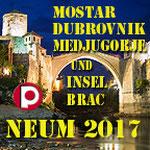 NEUM, Medjugorje, Mostar, Dubrovnik & Brac
