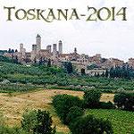 Toskana mit Tavarnelle, Volterra, San Gimignano & Pisa 2014