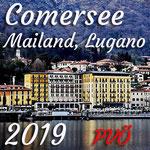 Comersee 2019 Italien und Scheiz