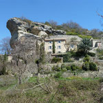 Le Rocher de Rocsalière et ses jardins suspendus