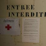 Eingang zur Krankenstation / Quarantäne
