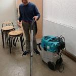 Wir verlassen den Werkraum sauber und ordentlich.