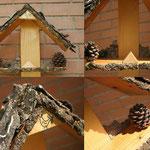 casetta per uccelli handmade