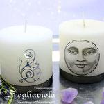 Black Moon Night Candle Set