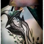 Disegnando streghe erbane