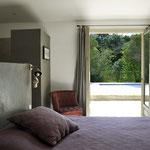 Niki - Schlafzimmer im EG mit Terrassentüre