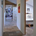 Coup de Coeur - der helle Treppenaufgang und Zugang zu den Schlafzimmern und Bädern