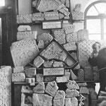 Kameni ulomci spomenika  Kninski muzej