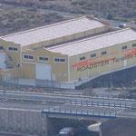 Produktionshallen auf Teneriffa