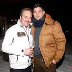 Auch am Start. TV Koch Tim Mälzer mit Veranstalter Till Demtroeder. Foto: ©ExperiArts Entertainment – Franziska Krug