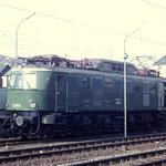 E19 11 vom Bw Hagen-Eck im Bahnhof Siegen, März 1968