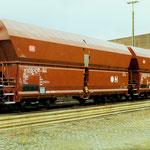 1990: 2 neue Falns-Waggons in Weidenau (Aufanheme: Dr. Richard Vogel)