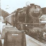 Hagen 1958: Schnellzug Richtung Siegen mit 23 006 Bw Siegen (Aufnahme: Sammlung Dr. Richard Vogel, Berlin)