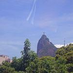 Die Christus-Statue auf dem Corcovado.
