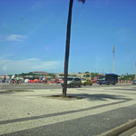 Am Strand Ipanema vorbei...