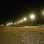 Unten am Strand...