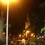 Abends in der Nähe unseres Hotels