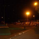 Abends an der Strandpromenade...