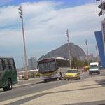 Avenida Atlântica, an der Copacabana.