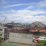 Das müßte schon zum Hafen von Rio gehören...