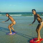 Das brasilianische Surf-Olympiateam