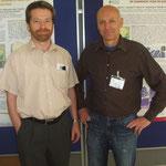 Posterpräsentation der Projektleiter Bauer (TGD) und Lassnig (AGES)