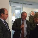ÖTK-Präs. Mag. Frühwirth, ATA Dr. Klauber und em. Univ. Prof. Dr. Gertrud Keck (v. li)