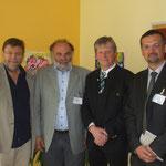 Int. Präsidiale: (v.li) Franz Krispel, Borut Semlic (SLO), Walter Obritzhauser, Sascha Legen (HR)