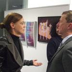 Magnif. Dr. Sonja Hammerschmid und ATA Dr. Herfried Haupt, ÖVA