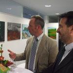 NÖ-Präs. Dr. Heinz Heistinger mit Dr. Arno Edlinger, ARGE TAM