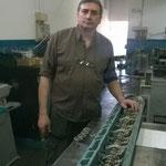 il nostro tecnico Ciro Riccardo presso la Graf Service di Poirino, Torino