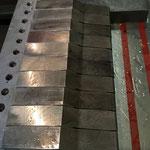fase di rettifica esterna (profilo)