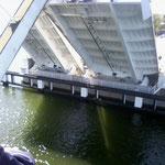 Besichtigung der Brücke in Kappeln