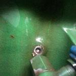 Gewinde abgerissen, beim Versuch die Hohlschraube vom Heizungswasser zur Kabine zu lösen